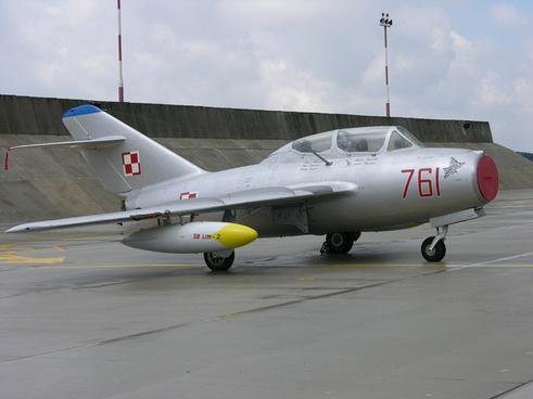 761 a mig 15uti preserved at poznan krzesiny