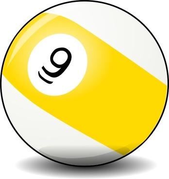 9 Ball clip art