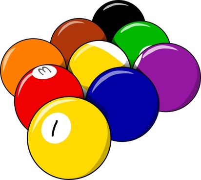 9 Ball Form clip art