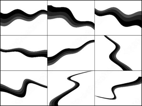 9 curves brush