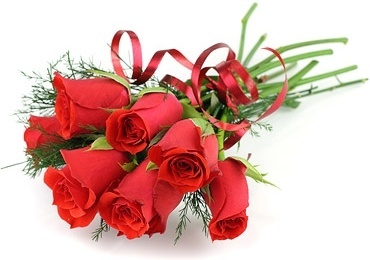 a bouquet of red roses picture