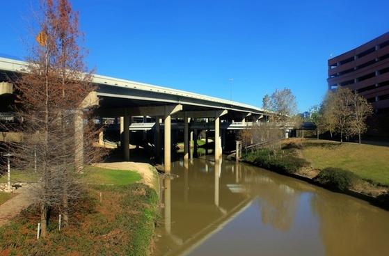 a bridge in houston texas