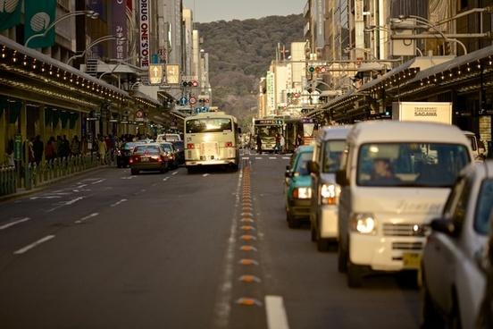a building bus car city e g hill line mountain n