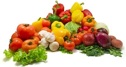 a bunch of fresh vegetables fine picture