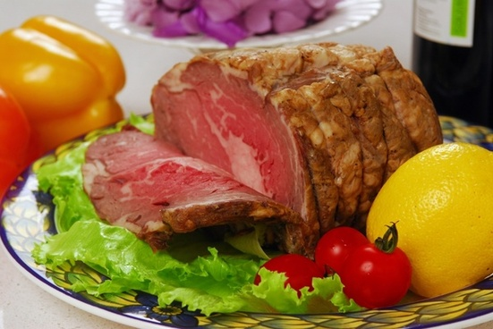 a chunk of beef 1