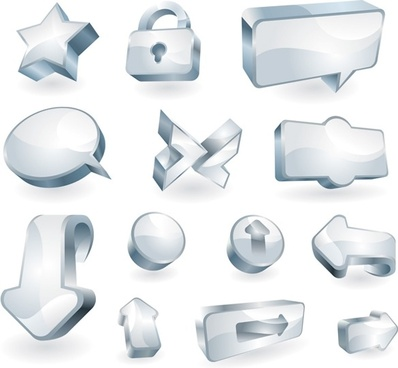a clean glass icon vector texture
