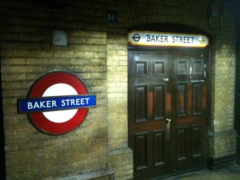 a door at baker street