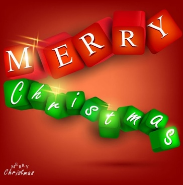 a gorgeous christmas elements background 02 vector
