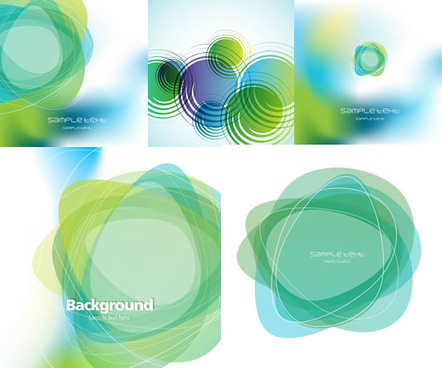 a green wound background art vector
