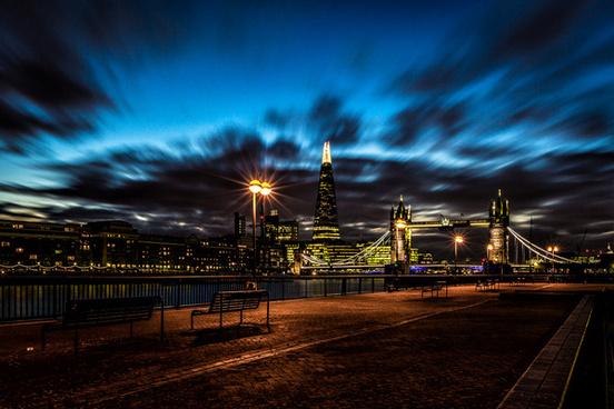 a london cityscape