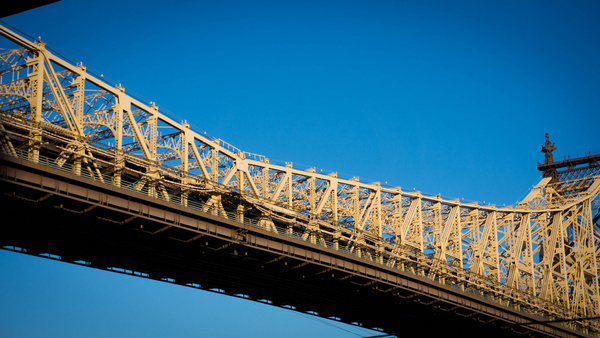 a mans reach should exceed his grasp 59th street bridge