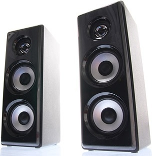 a pair of speakers picture