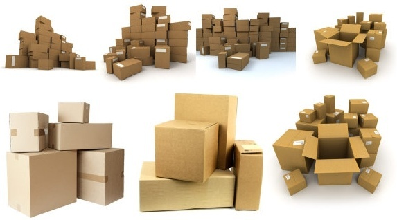 a pile of cardboard boxes hd picture
