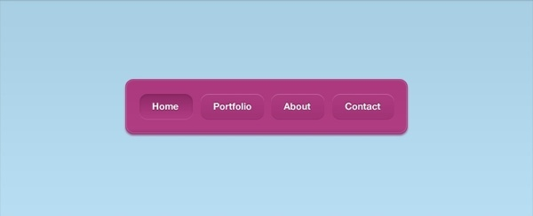 A Pink Vibrant Navigation Interface