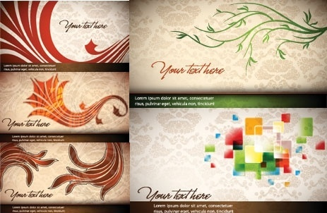 a touch of elegance banner vector background