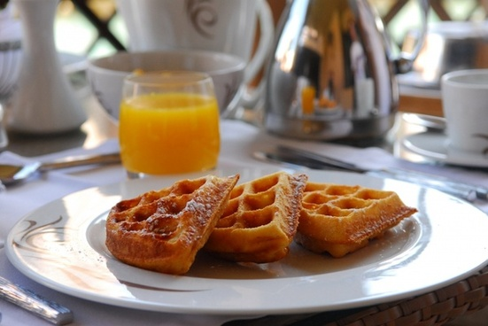 a waffle