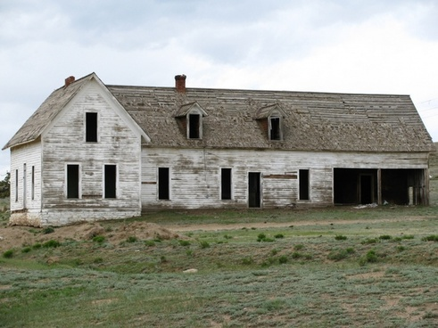 abandoned agriculture architecture barn building