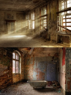 abandoned and dilapidated indoor highdefinition pictures a