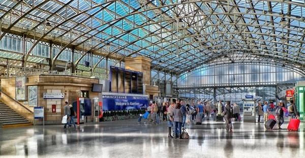 aberdeen scotland train station