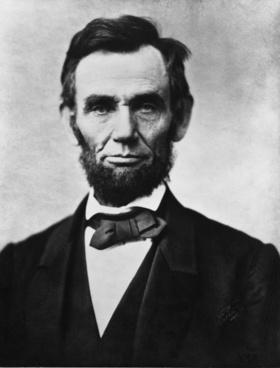 abraham lincoln president portrait