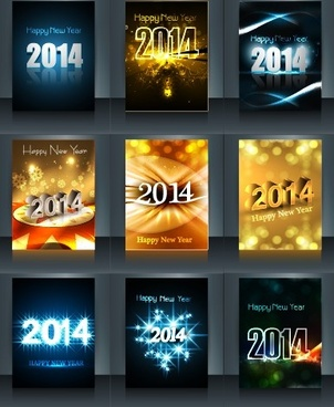 abstract14 new year vector background