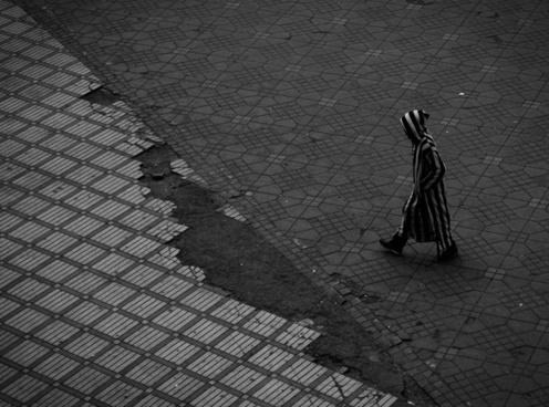 abstract adult business city cobblestone dark men