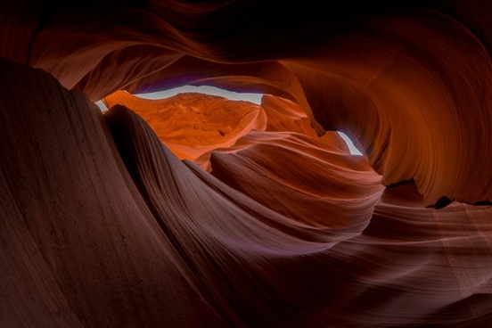 abstract antelope canyon cave desert geology glow
