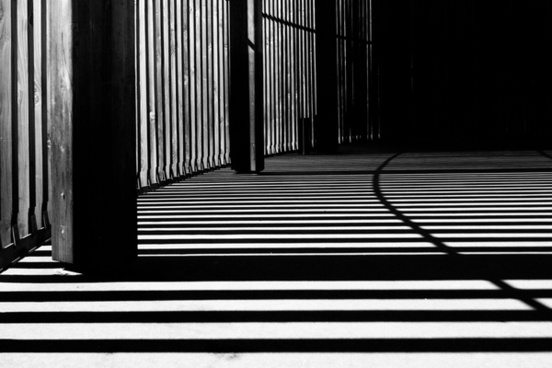abstract architecture art background black and white