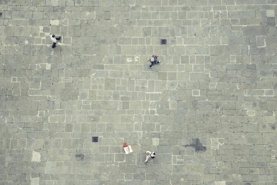 abstract architecture brick cement challenge concrete