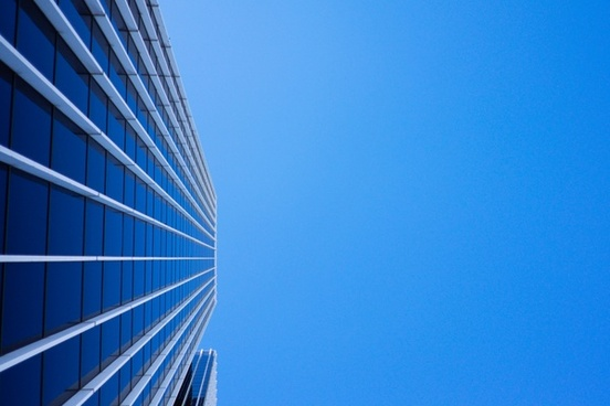 abstract architecture building business city