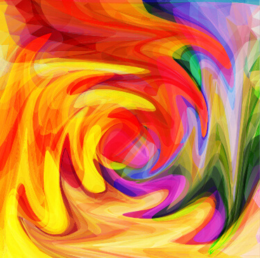 abstract artistic effect colorful vector background
