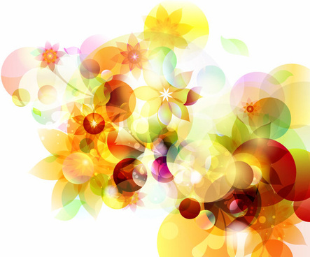 abstract autumn sunshine vector