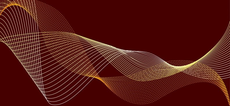 abstract background 3d curved lines decoration