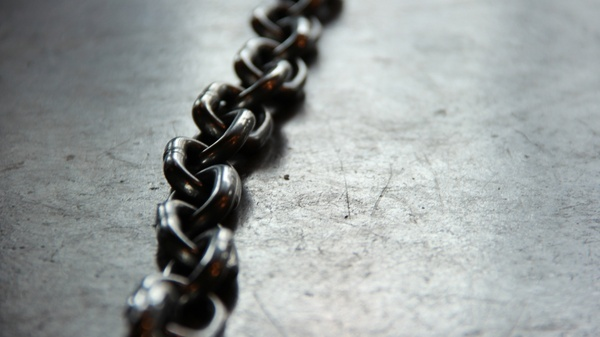 abstract background balance chain close closeup dark