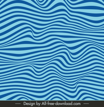 abstract background blue dynamic swirled illusion