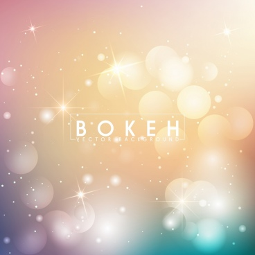 abstract background bokeh sparkling light decoration