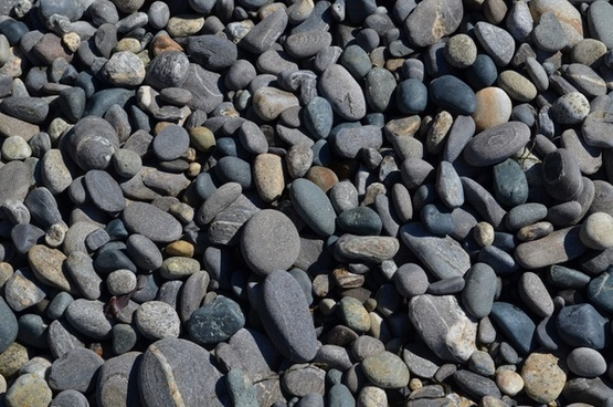 abstract background cobblestone granite gravel grey