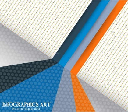 abstract background colorful 3d wall decor