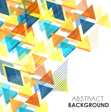 abstract background colorful geometric design