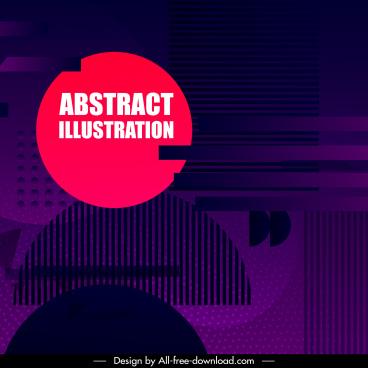 abstract background dark violet decor technology design