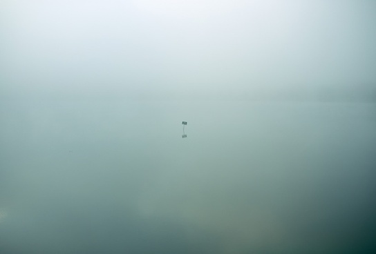 abstract background dawn fog lake landscape light
