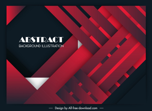 abstract background elegant red black layers sketch