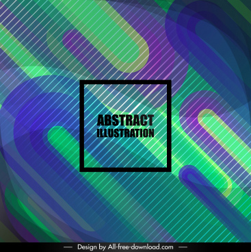 abstract background modern colorful flat curved decor