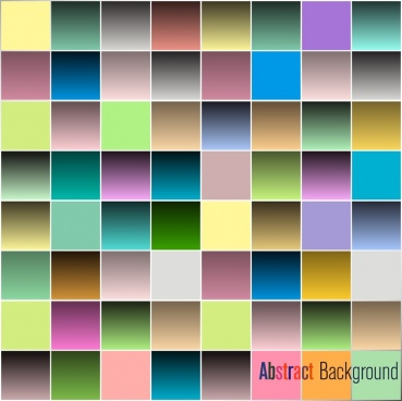 abstract background shiny colorful squares isolation