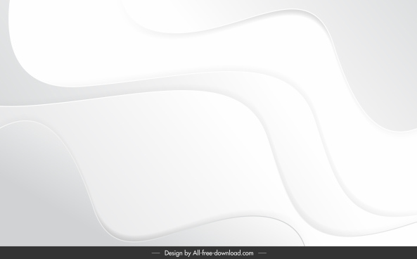 abstract background template bright modern curves sketch