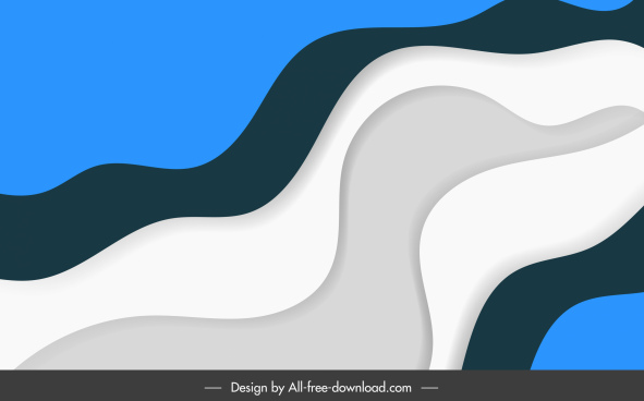 abstract background template dynamic flat curves shapes