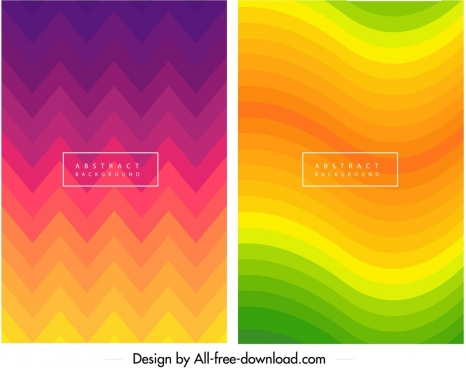 abstract background templates colorful dynamic illusion waves decor
