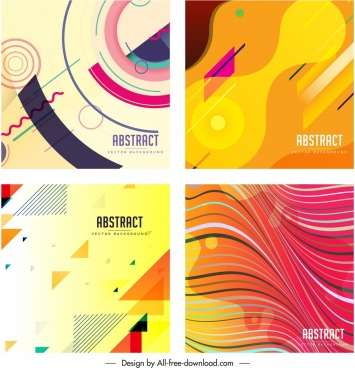 abstract background templates colorful geometric dynamic design