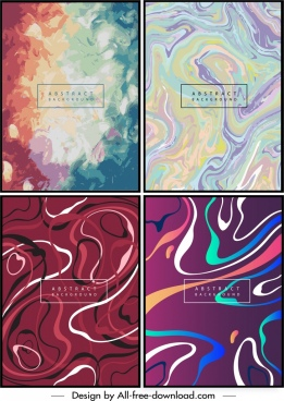 abstract background templates colorful motion design watercolor decor