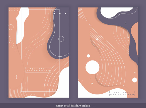 abstract background templates dynamic swirled deformed shapes